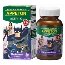 Appeton Activ-C (Blackcurrant) Tablets 60's (For 7-12 Years Old) - 10%