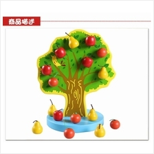 MAGNETIC JOYFUL ORCHARD WOODEN TREE FIRST IN MALAYSIA