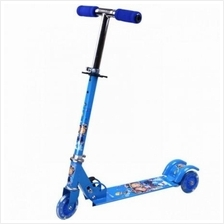 HEIGHT ADJUSTABLE KID SCOOTER WITH LED LIGHT FOLDABLE SCOOTERS