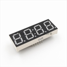4 Digit 7 Segment Clock Red LED Number ANODE
