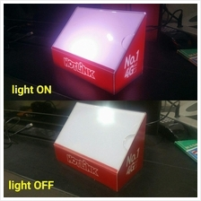 display light box with power adaptor
