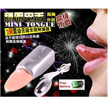 3 Speed Electric Tongue Bullet Vibration Women Stimulator Sex Play
