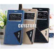 ZenFone Max Plus M1 ZB570TL SVIEW Triangle Standable Flip case Pocket