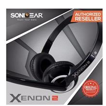 SonicGear Xenon 2 Stereo Headset With Mic Headphones - Original