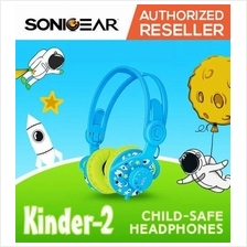 SonicGear Kinder 2 Kids Child Sound Safe Wired Cute Stereo Headphones