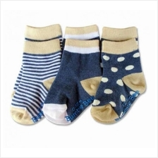 Bumble Bee - 3 pair pack boy classic socks 0 to 12months)
