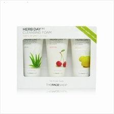 The Face Shop Herb Day 365 Cleansing Foam Special Set 170ml (3pcs)