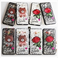 SAMSUNG Grand I9082 2 G7106 A9 J3 Pro C9Pro BEAR FLOWER case