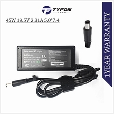 HP Laptop Notebook AC Power Adapter 45W 19.5V 2.31A 5.0*7.4 Charger (