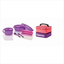 Tupperware Joyful Meals + Double Decker Pouch