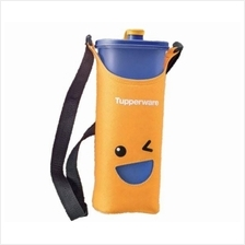 Tupperware Smiley Bottles (1) 2.0L (Blue) + Pouch (Yellow)
