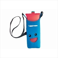 Tupperware Smiley Bottles (1) 2.0L (Red) + Pouch (Blue)