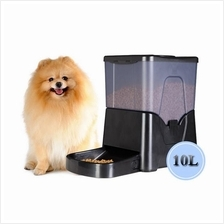 Pet Automatic Food Dispenser Large Pet Feeder Programmable 10L