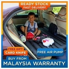 Inflatable Car Back Seat Air Bed Mattress Pillow Travel Camping Sleep