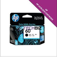 60 BLACK HP INK CARTRIDGES