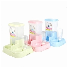 Pet Food Water Feeder Dispenser Cat Kitten Dog Puppy