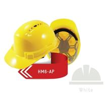 ISAF Industrial Safety Helmet c/w Pinlock, Sweatband  & Chinstrap - Wh