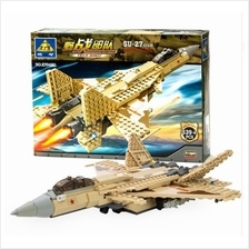 Kazi KY84021 Open Chi Military Series SU 27 Assembled Building Block S