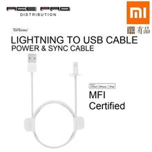 XIAOMI TopTurbo Lightning to USB Cable 1m - MFI Certified Power & Sync