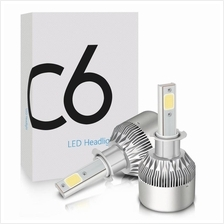 C6 LED Headlight 6000K color All In One Compact Design
