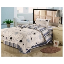 1500TC Circle Striped Pure Cotton Bedding Set