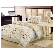1500TC Rectangle Chain Pure Cotton Bedding Set