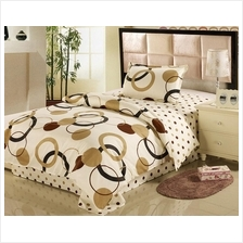 1500TC Magic Circle Dot Cotton Bedding Set