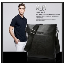Classic Men Bag PU Leather Messenger Shoulder Man Bag Office Casual