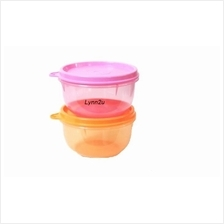 Tupperware Mini Bowl (2) 250ml - Pink & Orange