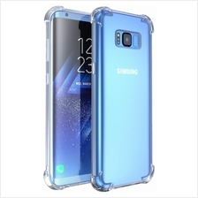 Transparent TPU Silicone Case for Samsung Galaxy S8 S9 Plus