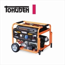 Tokuden 7.0kW Gasoline Generator w/ Key Start & Wheeled