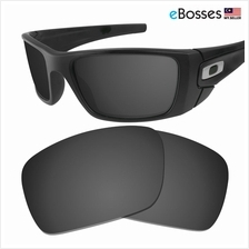 eBosses Polarized Replacement Lenses for Oakley Fuel Cell - Solid Blac