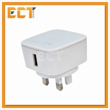 PSI 90V 20W Quick Charge 2.0 Travel USB Adapter - White