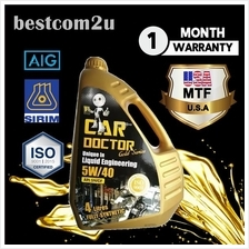 CAR DOCTOR Fully Synthetic Lubricant 5W-40 Engine Oil (4 litres)