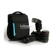 Winer DL-9 Shoulder Camera Bag - Black/Blue