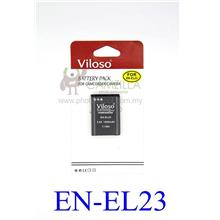 Viloso EN-EL23 Li-on rechargeable Battery  for El23 Nikon P900 P600