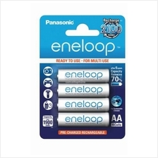 Panasonic eneloop AA 2000 mAh Rechargeable Batteries, Pre-charged