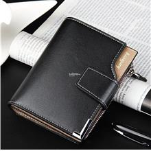 Men Multifunctional Zip Buckle Short 3 Folding Wallet Money Clip Purse