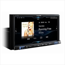 Alpine iLX-702D 7 Digital Media Station Apple CarPlay Android Auto (N