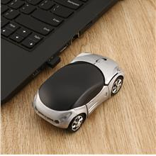 Adjustable 1000DPI Wireless Car Optical Gaming Mouse For PC + USB rece..