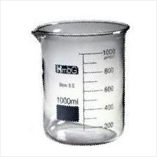 Lab Glassware, Glass Beaker 600ml, HmBg / Bikar