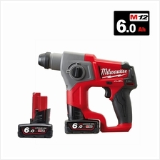MILWAUKEE M12 FUEL SDS PLUS COMPACT ROTARY HAMMER M12CH-602C