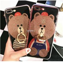 HUAWEI Nova 2i / Mate 10 / Mate 10 Pro SHINNING Teddy with RING
