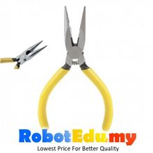 125MM DIY Sharp Nose Pliers Gripper Wire Cutter with Teeth & Spring