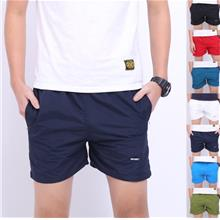 [MP 062] Men Cotton Shorts Casual Short Pant Loose Style Beach Simple