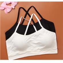 [KI 012] Baby Girl Inner Wear Bra Young Simple Child Cute Clothing Sin