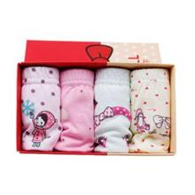 [KI 004] 4 in 1 Box Set Baby Girl Underwear Child Cute Kids Pants
