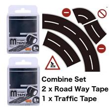 MiDeer Railway Road Play Tape DIY Traffic Stickers Adhesive Removable
