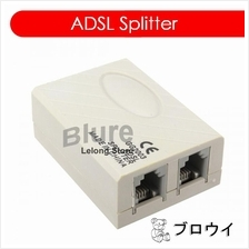 ADSL Internet Phone Spliter Hub for Streamyx DSL INTERNET FILTER BOX