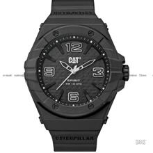 Caterpillar CAT Watches LE.111.21.131 SPIRIT II Silicone Strap Black